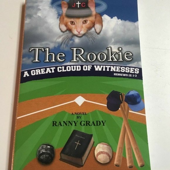 The Rookie by Ranny Grady Paperback Book Autograph